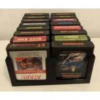 Tray for 16 Atari 2600 Game Cartridges (2x8)