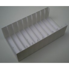 Tray for 10 Cassette Tapes in cases (1x10)