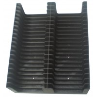Black Tray for 40 MiniDiscs in cases (2x20)