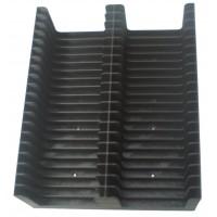 Tray for 40 MiniDiscs in cases (2x20)