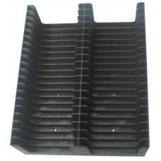 Black Tray for 40 MiniDiscs in cases (2x20)