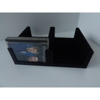 Tray for 20 MiniDiscs in Prerecorded cases (2x10)