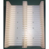 White Tray for 40 MiniDiscs in cases (2x20)